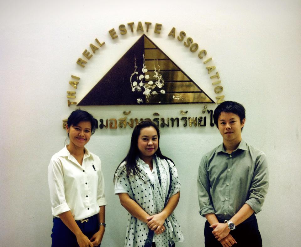 タイ不動産協会にて