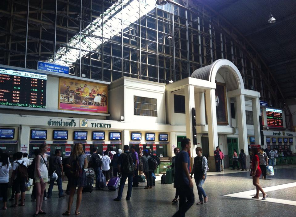 タイ国鉄・フアランポーン駅