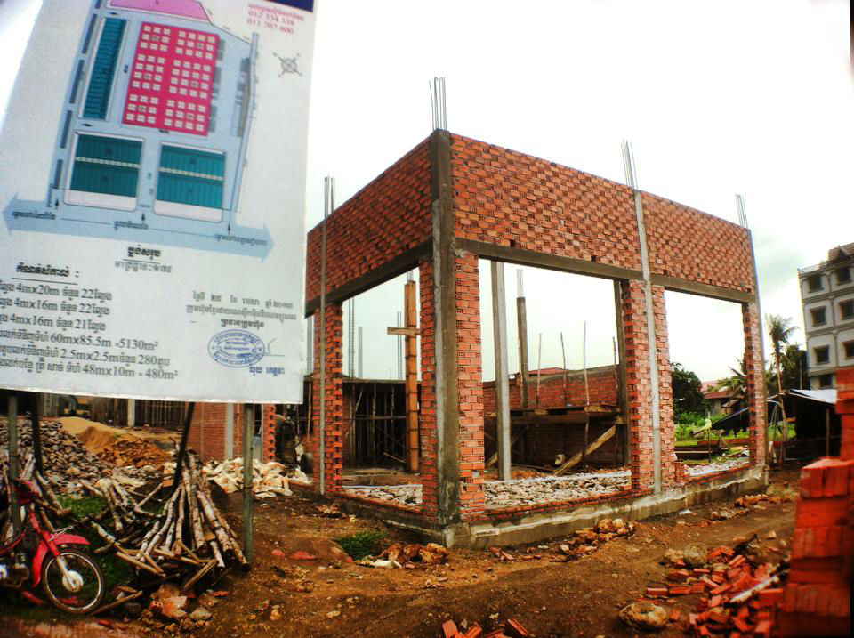 シソポンの集合住宅プロジェクト