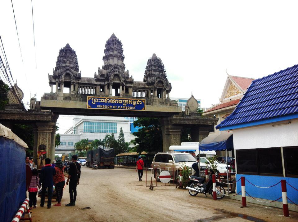 カンボジアの国境ポイペト