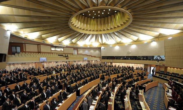 タイの国民議会写真