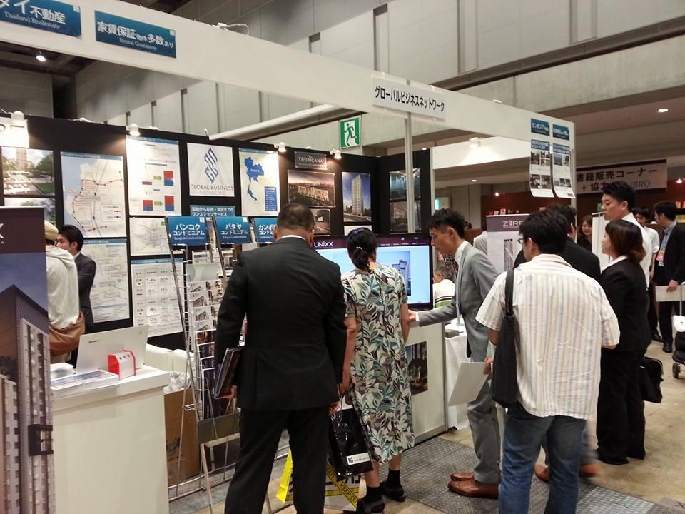 2014年6月の東京展示会の様子