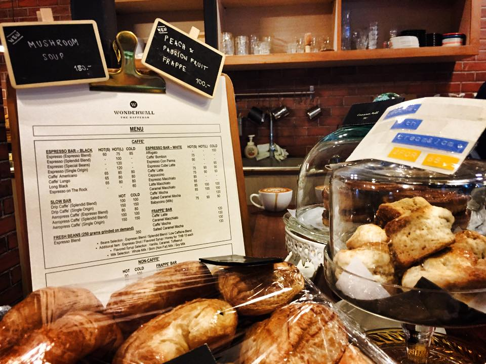 アソーク・プロンポンWonderwall The Kaffebar サイドメニュー