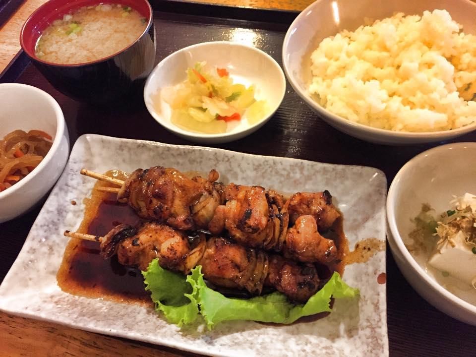 パタヤ日本料理・大阪(おおさか)焼き鳥セット