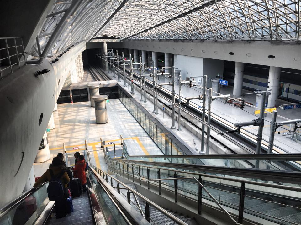 インチョン空港エアポートエクスプレス駅