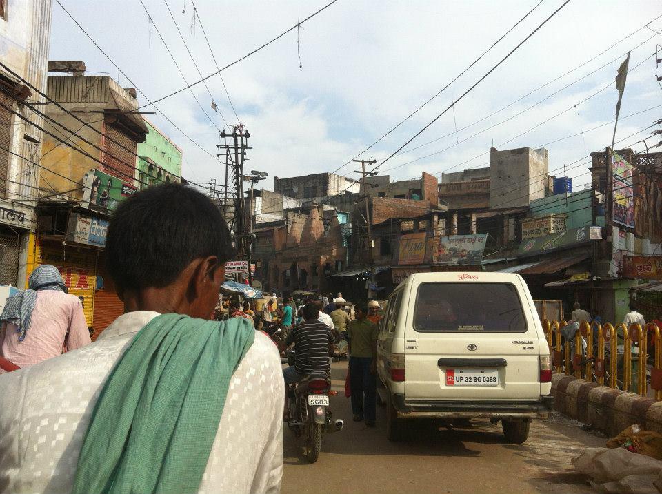 インドの定番、リキシャー