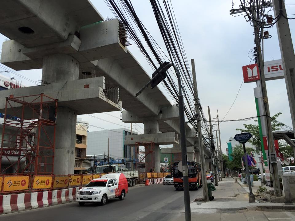 MRTブルーライン延伸工事・バンパット駅