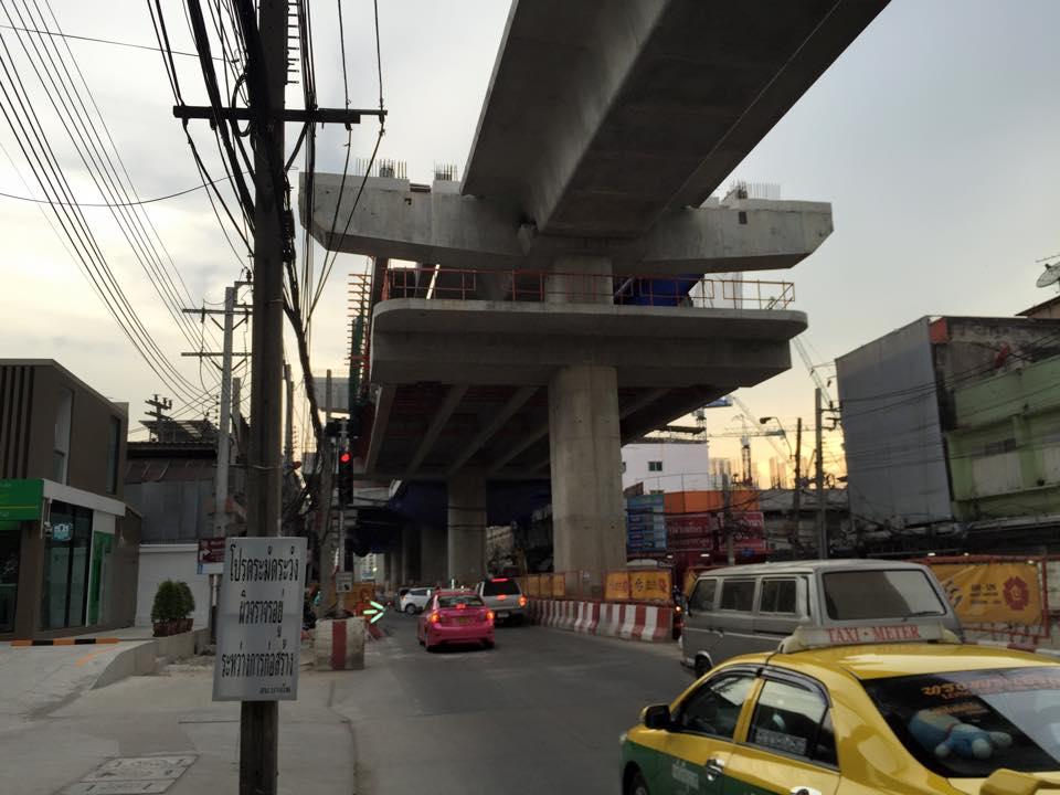 MRTブルーライン延伸工事・バンポー駅