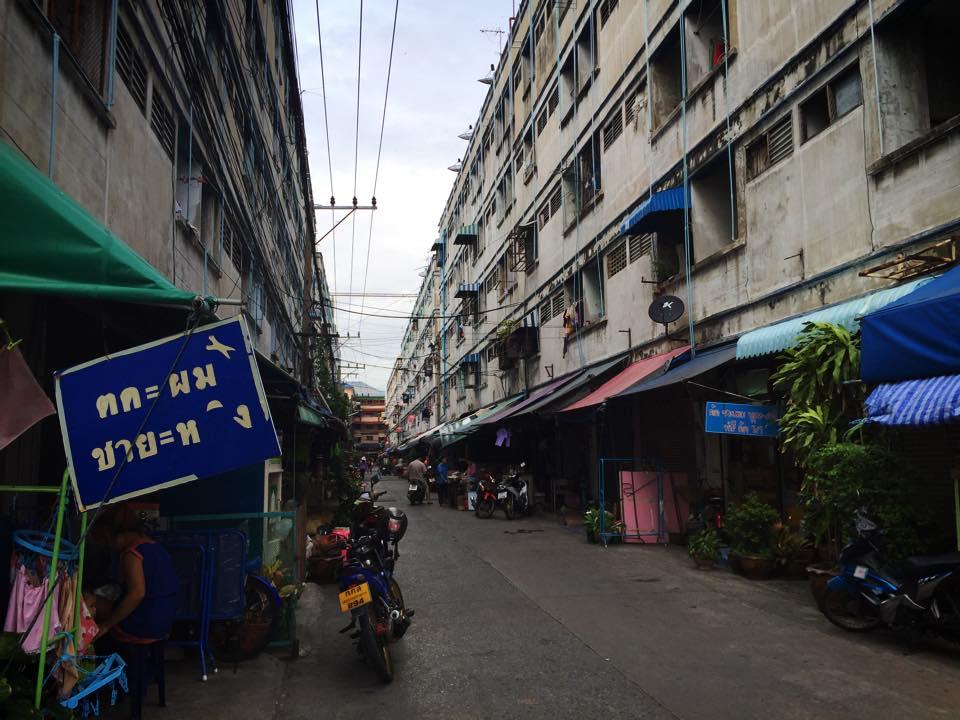バンコク隣県の集合住宅(コンドミニアム)