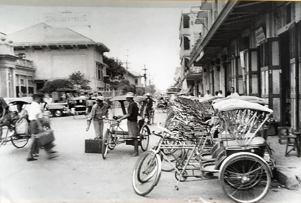 1915年頃のバンコク・フアランポーン駅周辺