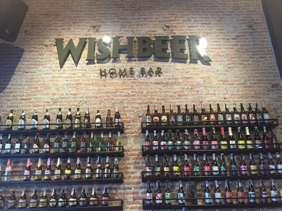 Wishbeer home bar in Ekkamai