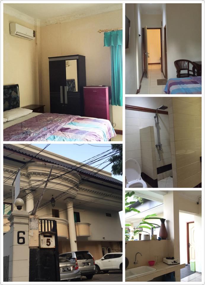 ジャカルタの古めのコス室内