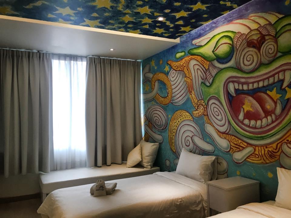 Beat Hotel Bangkok 客室2