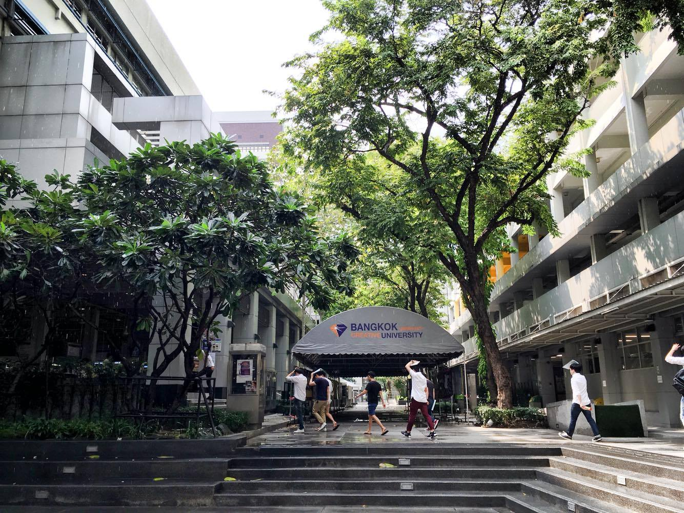 Bangkok university campas
