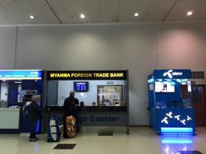 myanmar airport Sim card