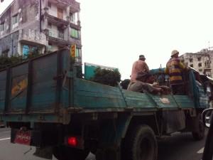 myanmar truck car