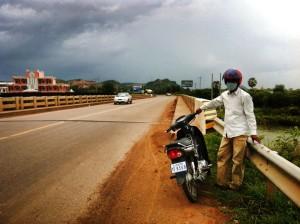 Cambodia Motor taxi